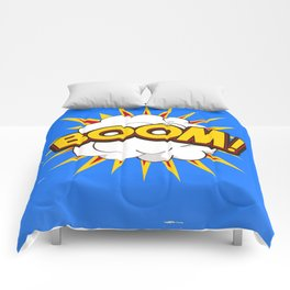 BOOM! limited edition Blue edition Comforters