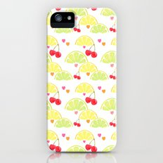 summer fruit cocktail Slim Case iPhone (5, 5s)
