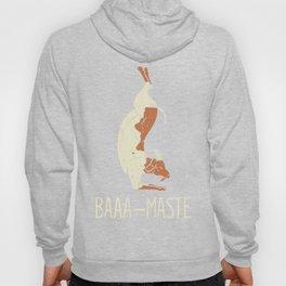Goat Yoga Design: Baaa Maste I Namaste I Inner Peace I Yogi Hoody
