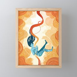 Unraveling Destiny Framed Mini Art Print