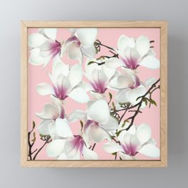 Magnolia Framed Mini Art Print