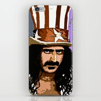 zappa iPhone & iPod Skins featuring Zappa by Saundra Myles