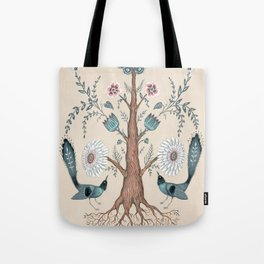 Tree Flora Tote Bag