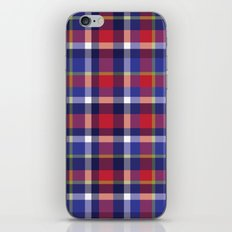 Preppy Plaid iPhone & iPod Skin