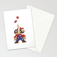 Super Mario Tetris Stationery Cards