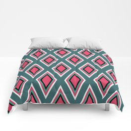 Rombitos coloridos Comforters