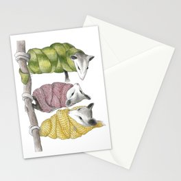 Comfy Cozy Are We Stationery Cards