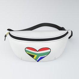 flag south africa 4,African,Afrikaans,Mandela,apartheid, Johannesburg,Soweto,Pretoria,Durban,Tembisa Fanny Pack
