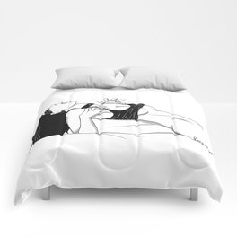 Clothed Scream 02 Comforters