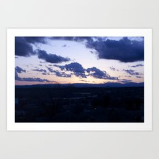 NM Sunset 4 Art Print
