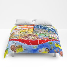 Umbrella Land Comforters