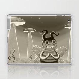 bee movie noir Laptop & iPad Skin