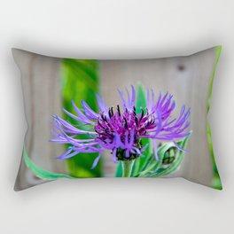 Cornflower in summer Rectangular Pillow