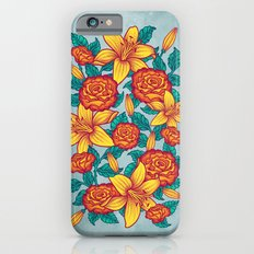 Flowers - Red Slim Case iPhone 6s