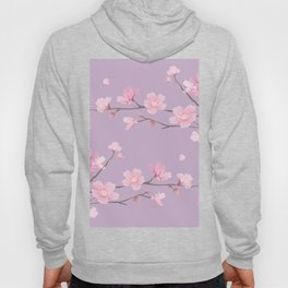 Cherry Blossom - Pale Purple Hoody