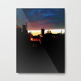 """""""Two Skies"""" Metal Print"""