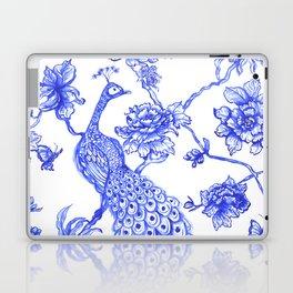 Chinoiserie Peacock Laptop & iPad Skin