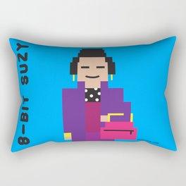 8 Bit Suzy Rectangular Pillow