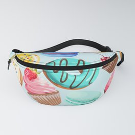 Delicious Desserts Fanny Pack