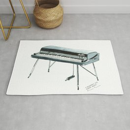 Rhodes Piano - A classic vintage electric piano from the 70s Rug