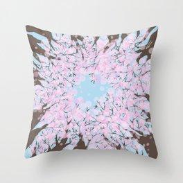 Look up -Spring Throw Pillow