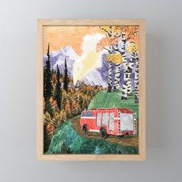 Tuutaa Framed Mini Art Print