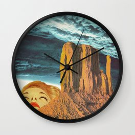 Sighs from heaven Wall Clock