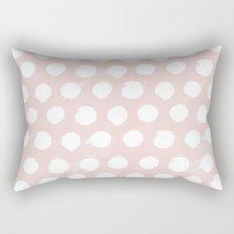 Spotsy-Rose Rectangular Pillow