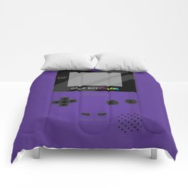 Gameboy Color - Purple Comforters