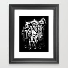 President Bad Ass Framed Art Print