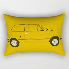 Yugo —The Worst Car in History Rectangular Pillow