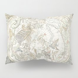 Star map of the Southern Starry Sky Pillow Sham