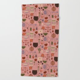 Love Potion Beach Towel