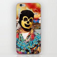 Enmascarado iPhone & iPod Skin