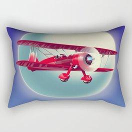 Biplane Rectangular Pillow