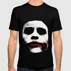Why So Serious? Black Mens Fitted Tee LARGE