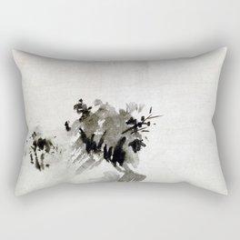 Sesshu Toyo Haboku-Sansui Landscape Rectangular Pillow