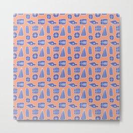 Pattern Project #29 / Symbols Metal Print