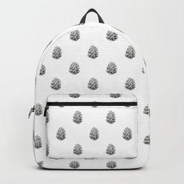 Pine cone illustration Backpack