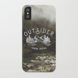 Outsider iPhone Case