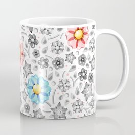 Millefiori Monotone Coffee Mug