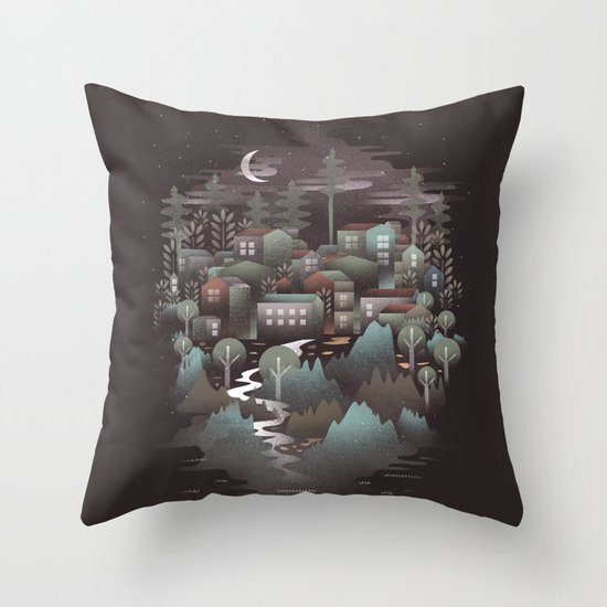 The North Throw Pillow
