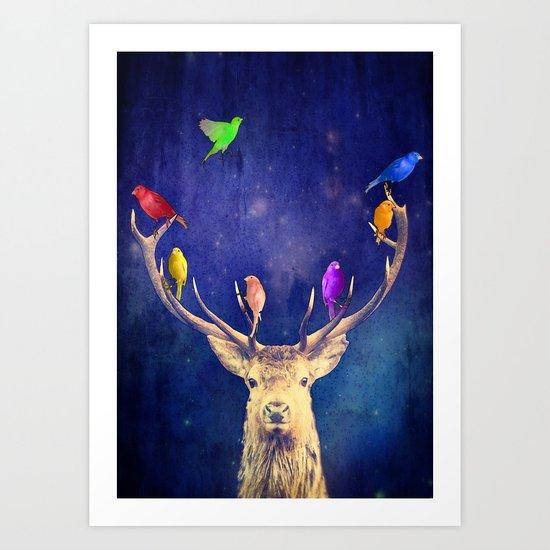 Colour Theory Art Print