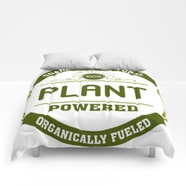100% Plant Powered & Organically Fueled Green Badge Comforters