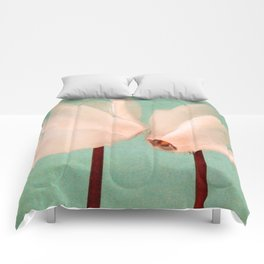kiss me Comforters
