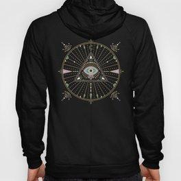 Evil Eye Mandala – Black Hoody