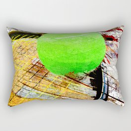 Tennis art 6 Rectangular Pillow