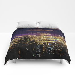 Medellin Night Moves Comforters