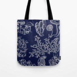 Fungus And Lichen Chart Tote Bag