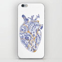 Kintsugi broken heart iPhone Skin
